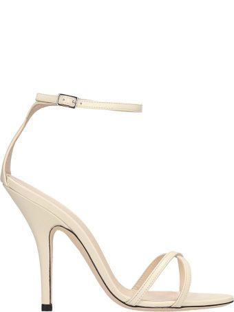 Magda Butrym Beige Leather Sandals