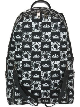 Dolce & Gabbana Printed Nylon Backpack