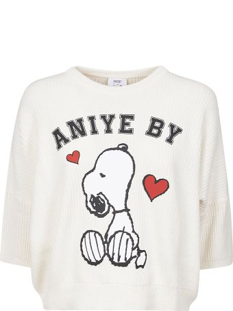 aniye by Logo Print Top