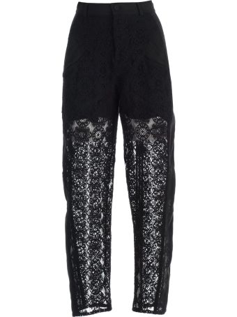 Philosophy di Lorenzo Serafini Pants W/side Band And Lace