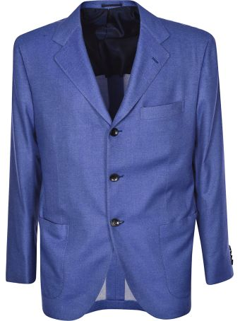 Kiton Single Breasted Blazer