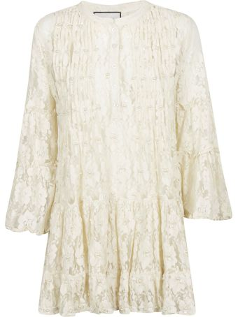Alexis Beaded Lace Dress