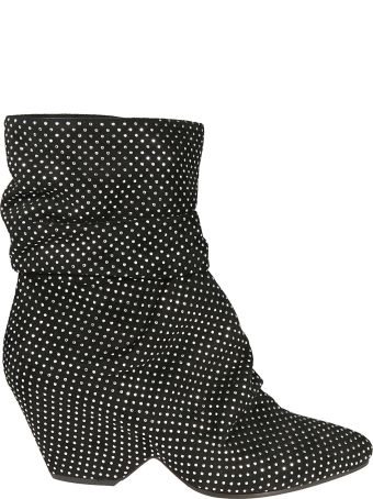Vic Matié Vic Matie' Micro Studded Ankle Boots