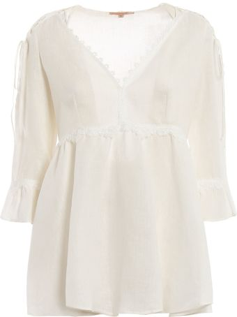 Ermanno Scervino Flared Blouse