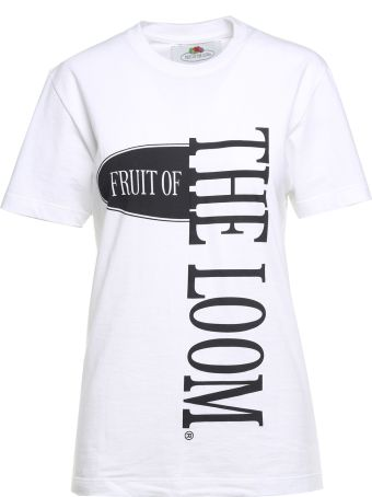 Cedric Charlier Logo-print Cotton-jersey T-shirt Fruit Of The Loom X Cedric Charlier