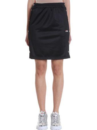 Fila Jenna Buttoned Black Skirt