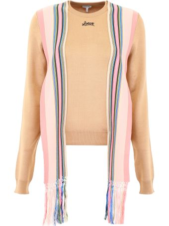 Loewe Pullover With Striped Bands