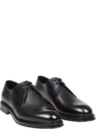 Dolce & Gabbana Derby In Black Leather