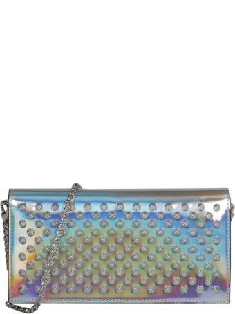 Christian Louboutin Embellished Studs Shoulder Bag