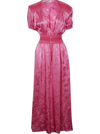 ATTICO V-neck Maxi Dress