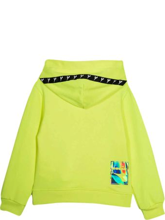 Diadora Neon Yellow Diadora Sweatshirt
