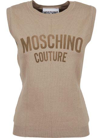 Moschino Printed Tank Top