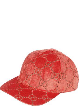 Gucci Embroidered Gg Baseball Cap