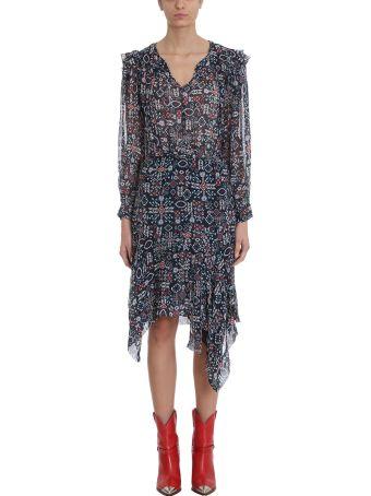 Isabel Marant Étoile Enna Black Silk Dress