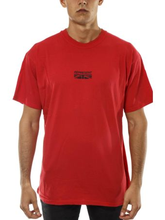 REPRESENT Represent Red Cotton T-shirt