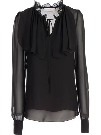 See by Chloé Frilled Neck Blouse