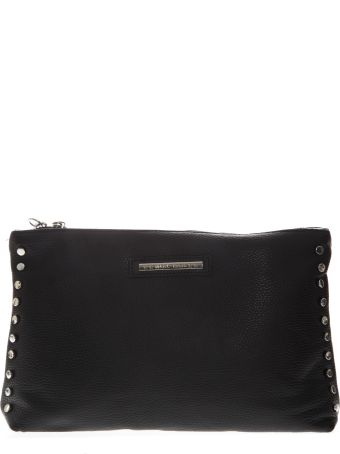 Marc Ellis Clutch Maggie In Black Leather