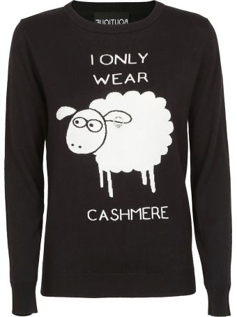 Boutique Moschino I Only Wear Cashmere Sweater