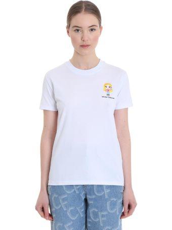 Chiara Ferragni T-shirt In White Cotton