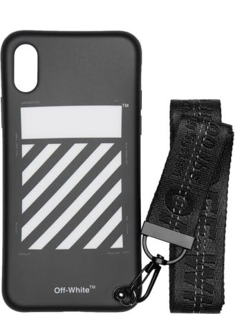 Off-White Iphone X Diag Strap Case