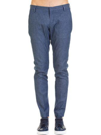 Entre Amis Michael Coal Tk America Cotton Blend Trousers