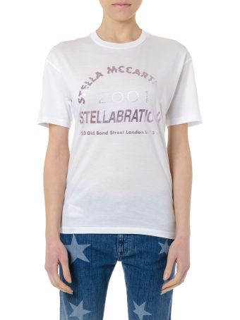 Stella McCartney Stellabration White Cotton T-shirt