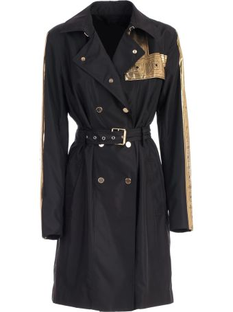 Versace Collection Trench Nylon Gold Bands