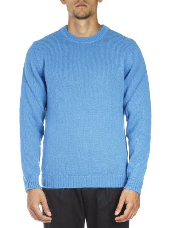 Low Brand Sky Blue Wool Sweatshirt