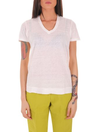 Massimo Alba White Flores T-shirt