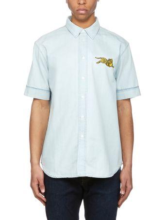 Kenzo Tiger Embroidered Shirt