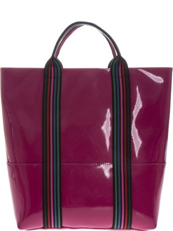Gianni Chiarini Camelia Vinyl Shopping Bag With Shoulder