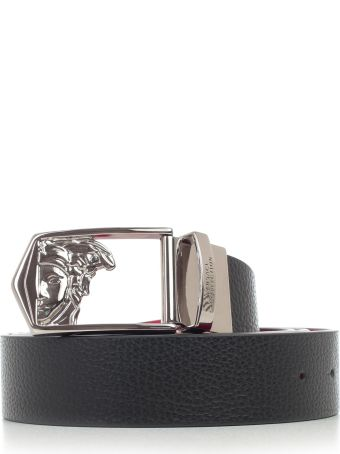 Versace Collection Belt Buckle Jellyfish Printing