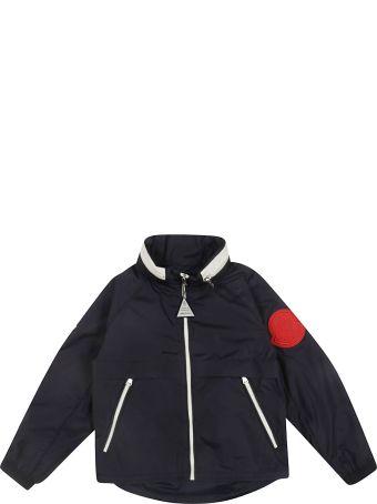Moncler Kids Concealed Hooded Jacket