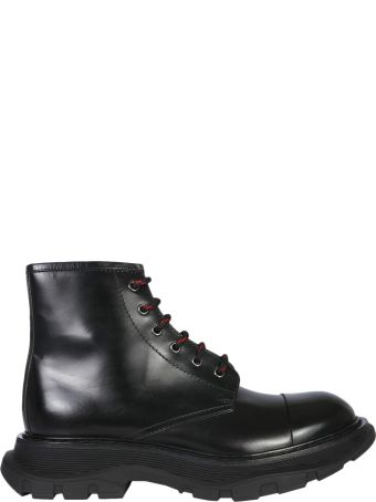 Alexander McQueen Boots With Tread Sole