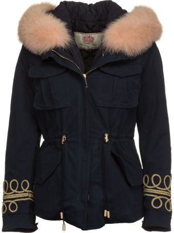 Project Foce Project [Foce] Furred Collar Jacket