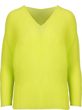 Issey Miyake Knitted Sweater