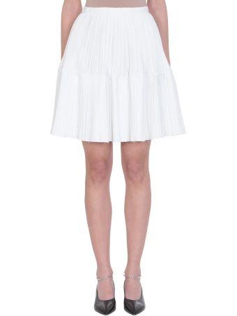 Jil Sander Glyn High-waisted Silk Skirt