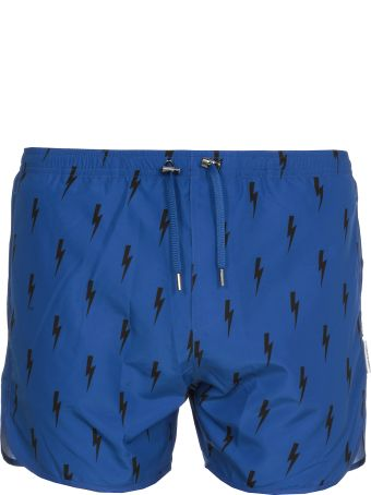 Neil Barrett Tech Fabric Swimsuit