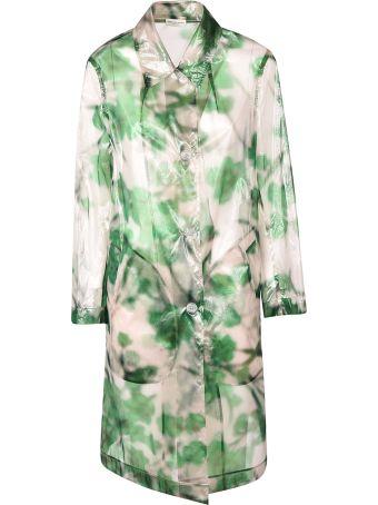 Dries Van Noten Floral Sheer Coat