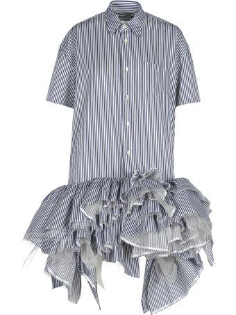 Junya Watanabe Junya Watanabe Frilly Shirt Dress
