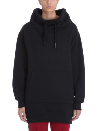 T by Alexander Wang Black Cotton Sweatshirt