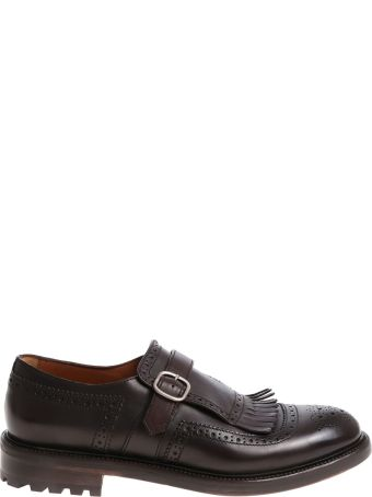 Doucal's Loafer Leather Single Strap