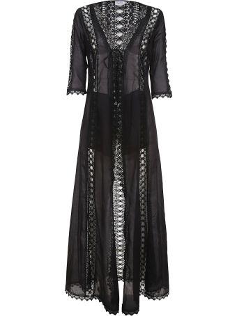 Charo Ruiz Perforated Shift Dress
