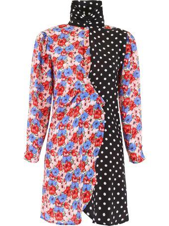 Rixo London Cherie Dress With Double Print
