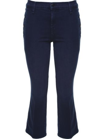 J Brand Zion Crop Boot Mid-rise Jeans