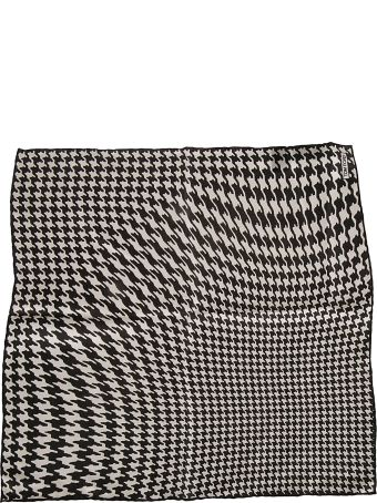 Tom Ford Abstract Print Pocket Square