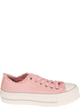 Converse Denim Platform Sneakers