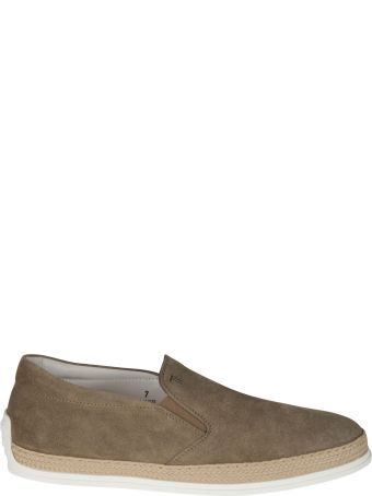 Tod's Woven Sole Slip-on Sneakers