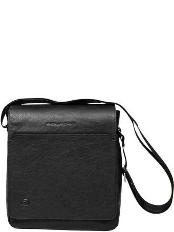 Piquadro Flap-over Shoulder Bag