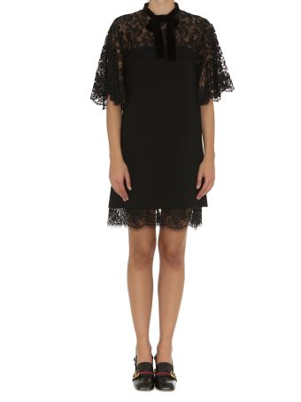 Gucci Lace Dress With Bow